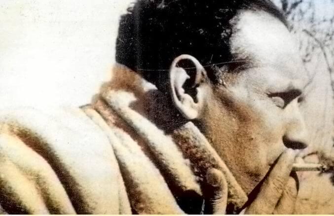 Nepali Poet Laxmi Prasad Devkota with Cigar