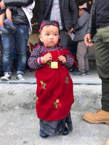 Gurung Dress For children girls