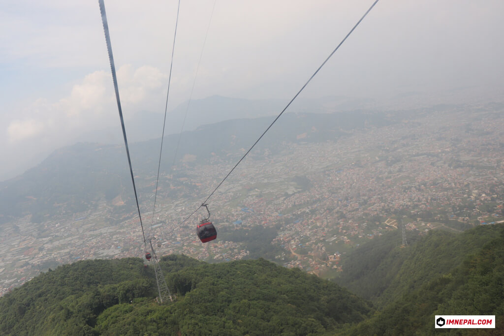 Chandragiri Hills Station Cable Car Kathmandu Nepal Photo Views