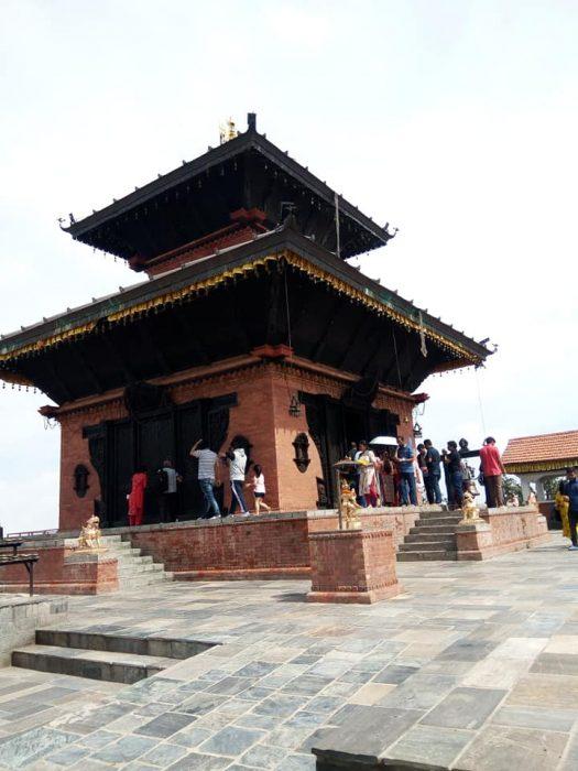Chandragiri Hills Station Cable Car Kathmandu Nepal Photos Bhaleswar Mahadev Temple