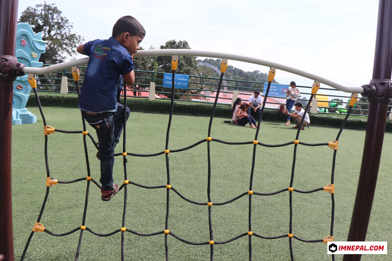Chandragiri Hills Station Cable Car Kathmandu Nepal Photos Playing Kids Park