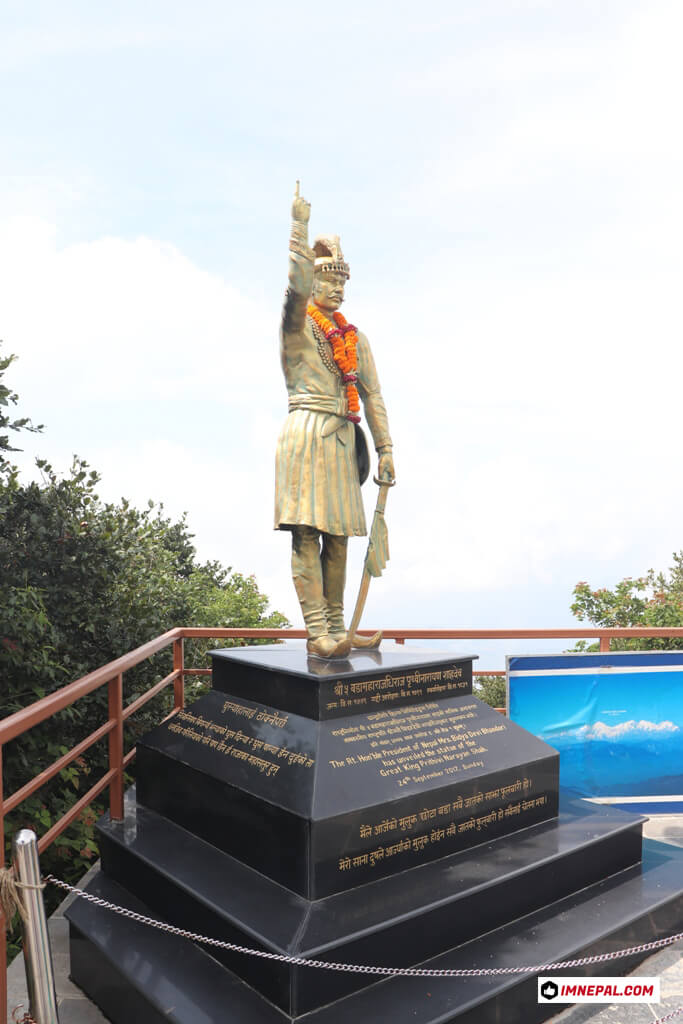 Chandragiri Hills Station Cable Car Kathmandu Nepal Photos Prithivi Narayan Shah King Statue
