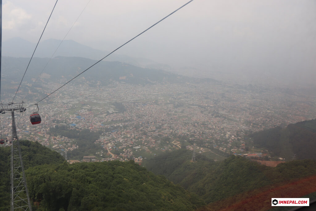 Chandragiri Hills Station Cable Car Kathmandu Nepal Photos Views