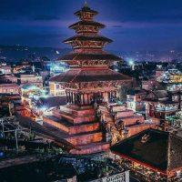 nyatapola temple bhaktapur Nepal -