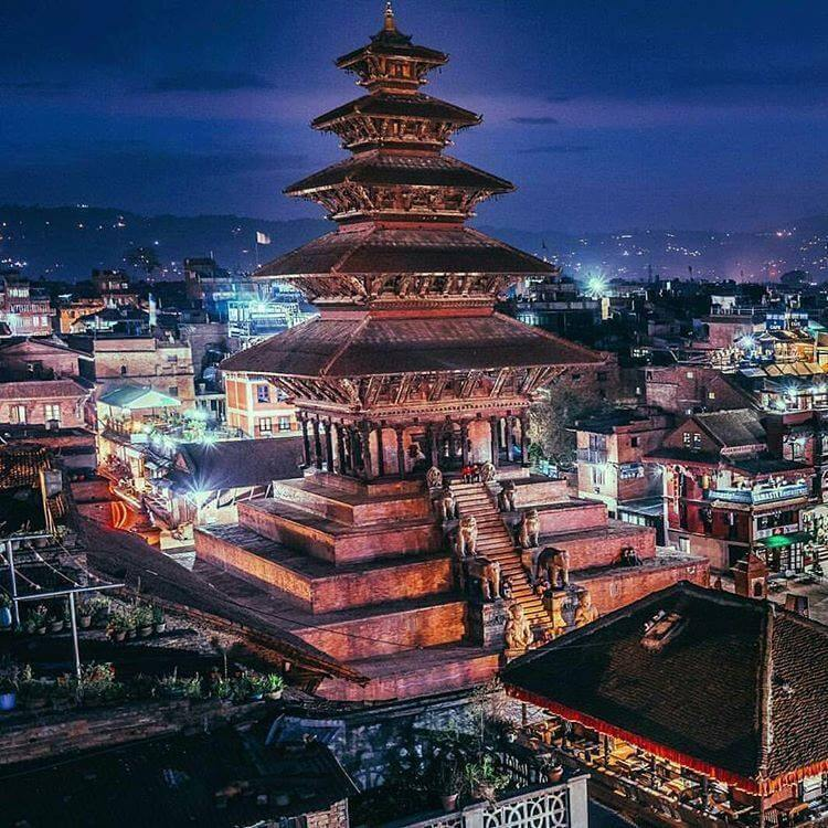 Which is The Tallest Temple in Nepal