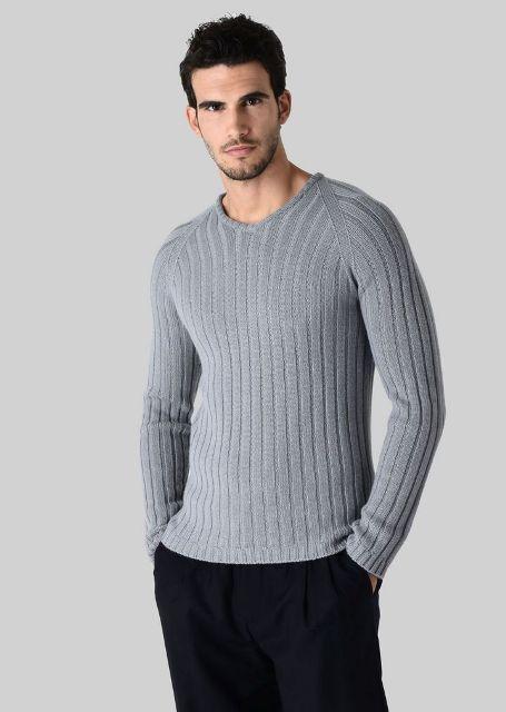 Cashmere Sweaters Men Boys