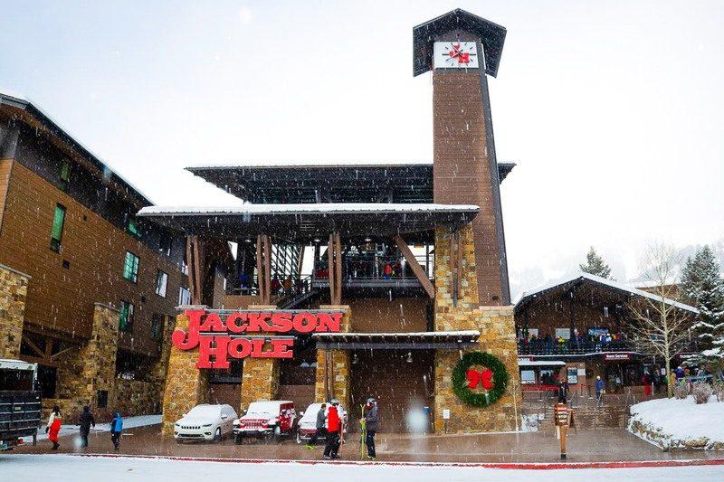 Jackson Hole, Wyoming Christmas celebration image usa
