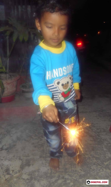 Kids Diwali Tihar Firecracker