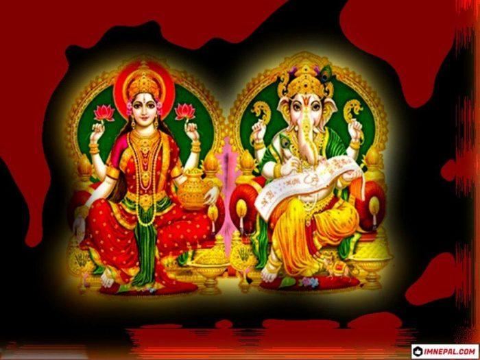 Mata Lakshmi Lord Ganesha Images