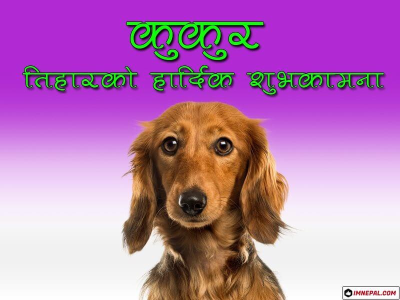 Kukur Tihar Ko Shubhakamana