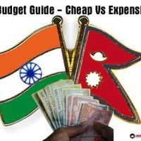 India Nepal budget Cheap Expensive