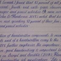 Best Handwriting In The World