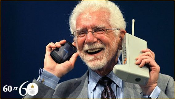 First Mobile Phone In The World