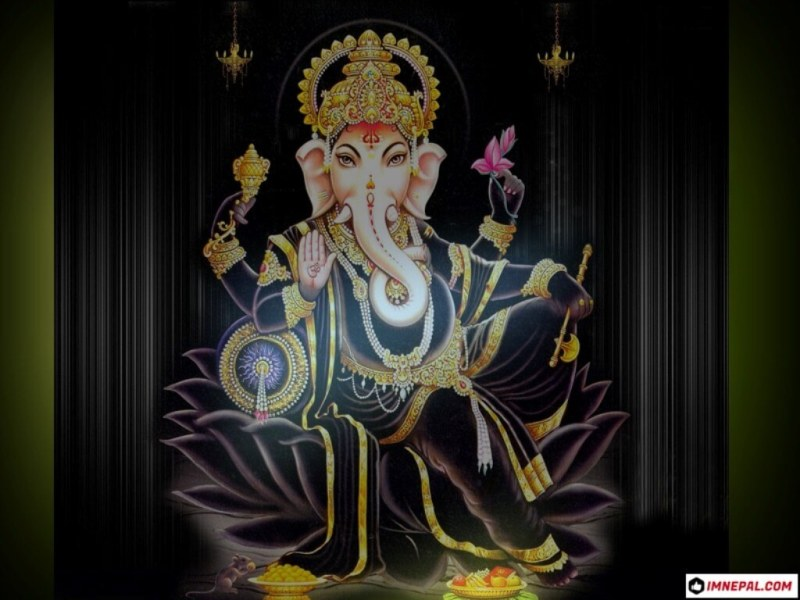 Hindu Deities Lord Ganesha HD Images Wallpapers