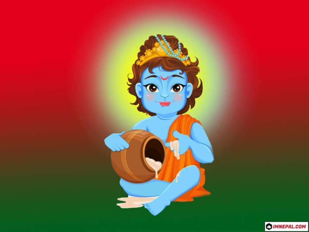 Lord Shri Krishna Images Wallpapers Childhood