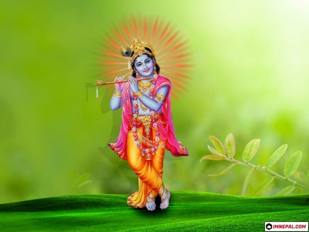 Hindu Deity Lord Shri Krishna Images Wallpapers
