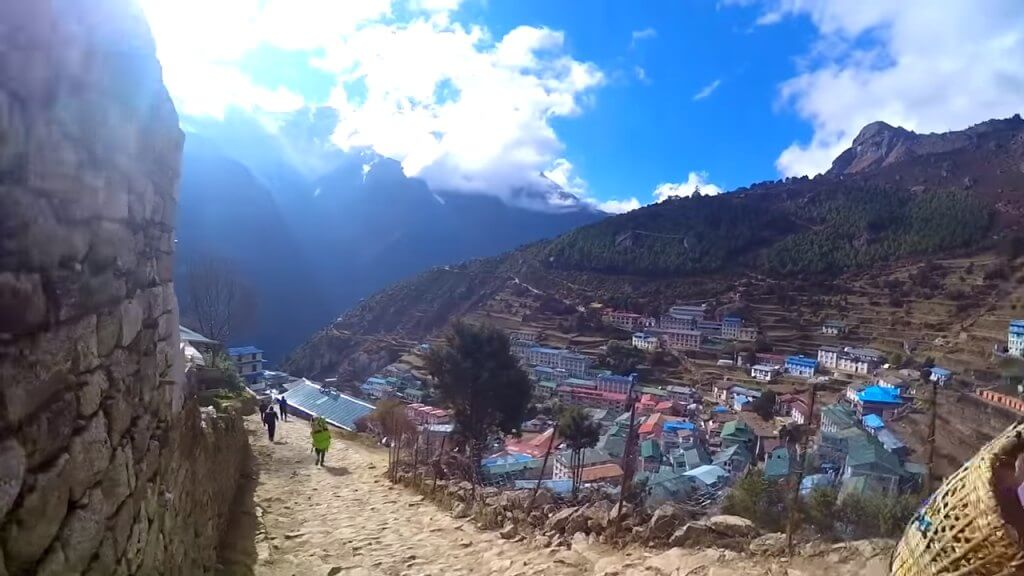 Namche Bazaar Views Nepal