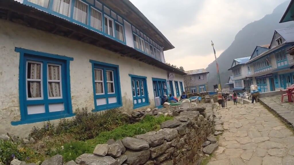 Phakding village, Nepal