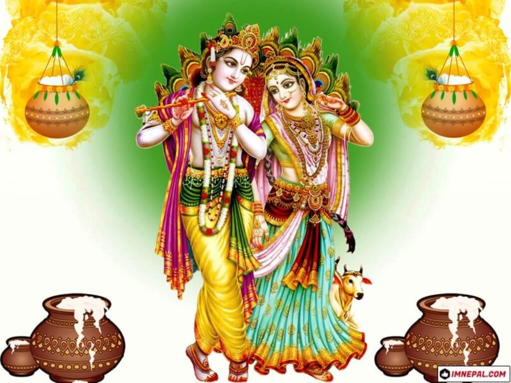 Hindu Deity Lord Shri Krishna Images Wallpapers
