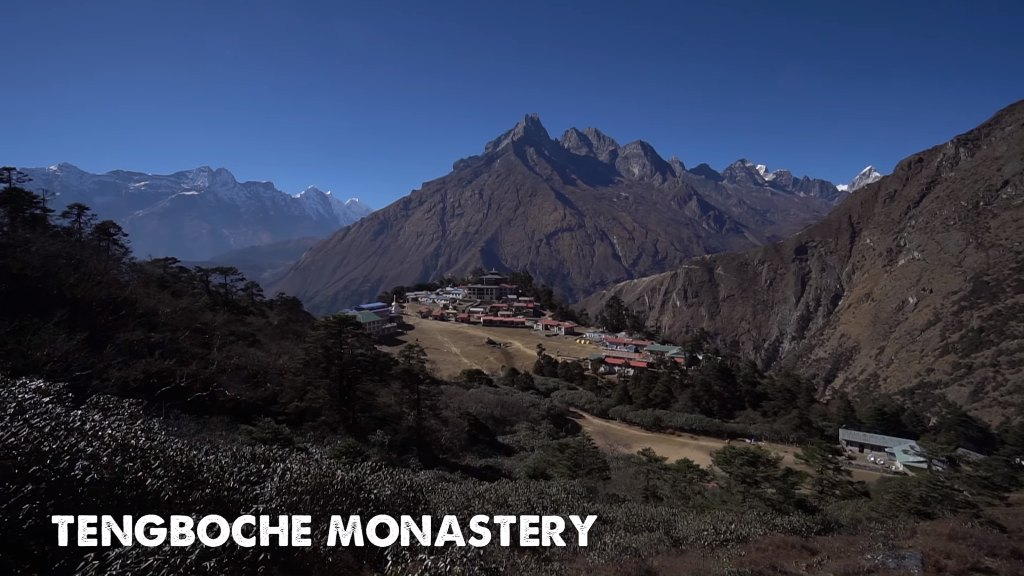 Tengboche Monastery Near Namche Bazaar, Nepal
