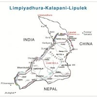 lipulekh kalapani map nepal