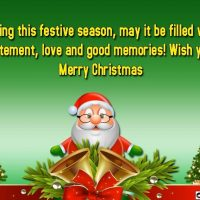 Merry Christmas Wishes Quotes & Pictures Image Greeting Cards