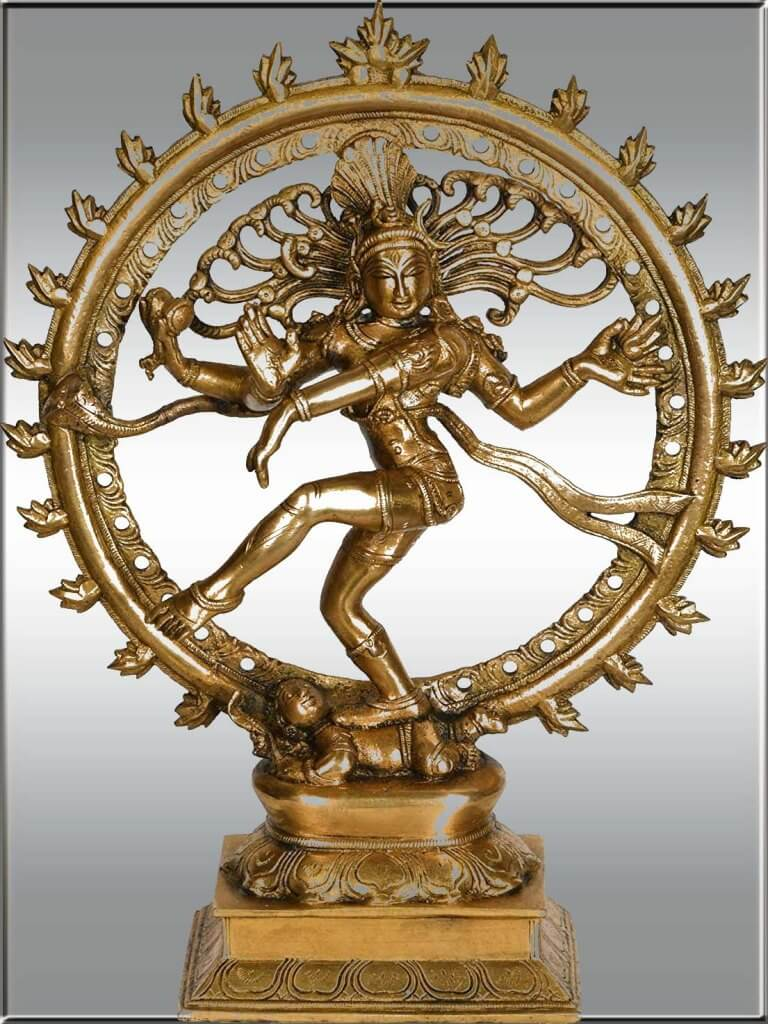 Nataraja, The Lord Of The Dance, Is The Most Famous Avtar Of Lord Shiva