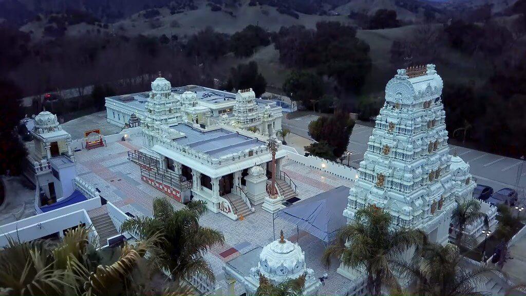 Malibu Hindu Temple, California, USA
