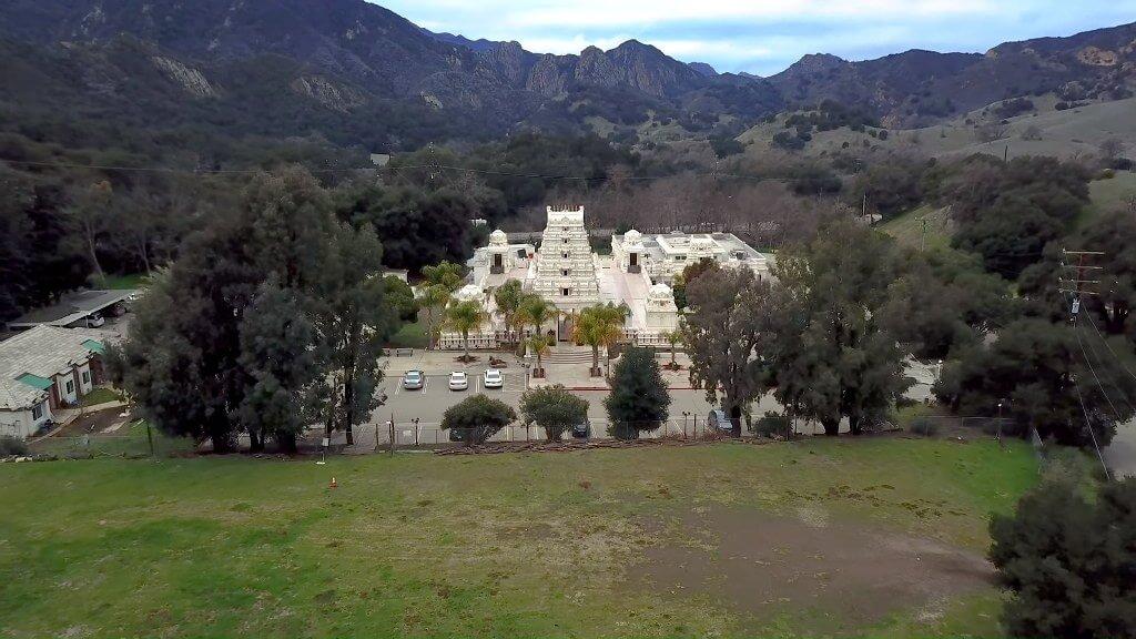 Malibu Hindu Temple, California