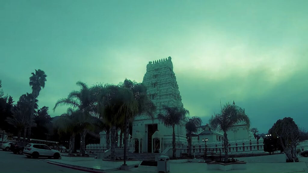 Malibu Hindu Temple, California, USA