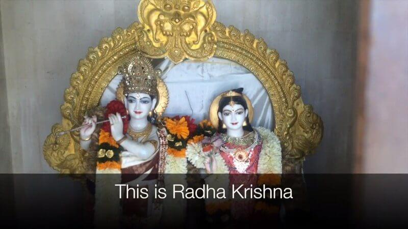 Malibu Hindu Temple, Radha Krishna