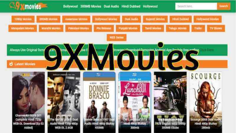 9xMovies 2020, A Website For Download Illegal HD Bollywood Movies Free Review