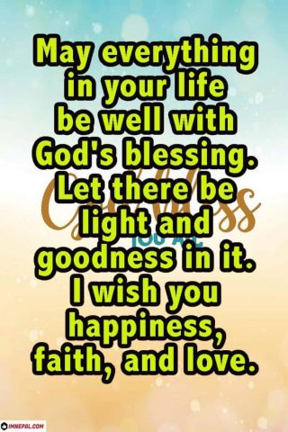May God Bless You With All The Happiness And Success In Your Life