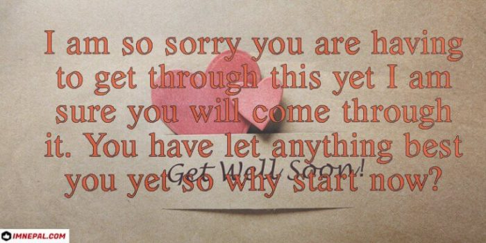 Corona Virus COVID19 Get Well Soon Wishes Messages Greetings Card