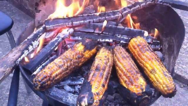 Poleko Makai Roasted Corn Nepali dishes