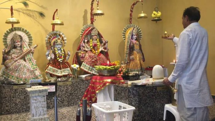 Ram Mandir Temple in Mississauga, Canada