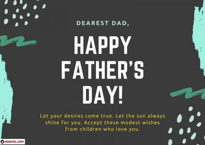 Happy Fathers Day Wishes From Son Greeting Card