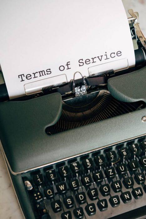 Lawyer law typewriter