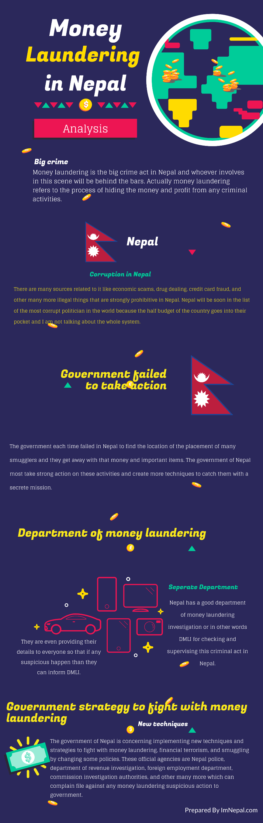 Thinking About Money Laundering in Nepal? 4 Things Why Nepal Government Must Take Action!