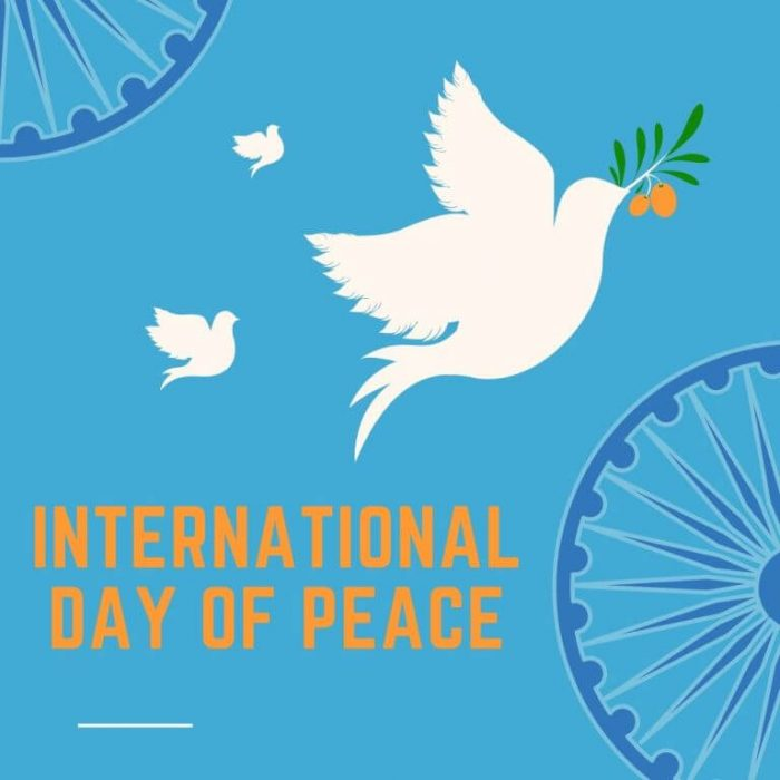 World Peace Day International Day of Peace