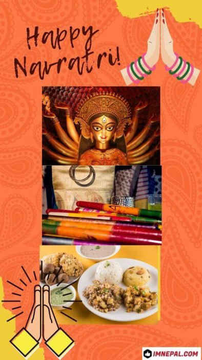 Happy Navratri Card Why navratri is celebrated