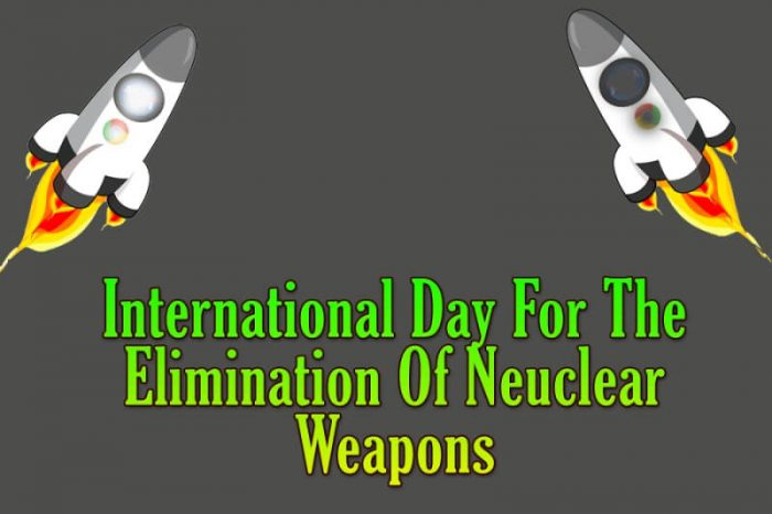 International Day For The Elimination Of Neuclear Weapons images photo cards wallpapers