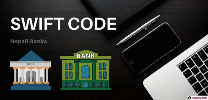 Swift code of Nepal banks