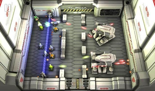 Tank hero laser war