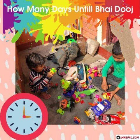Diwali Bhai Dooj Countdown Festival How Many Days Untill Bhai Dooj
