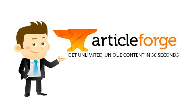 Article Forge Content Creater