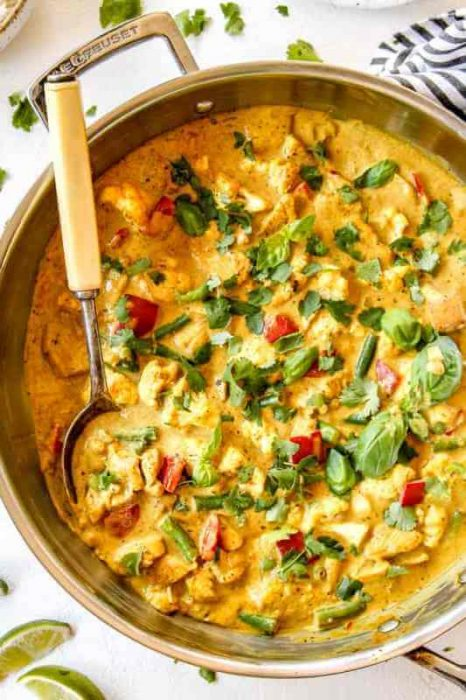 Coconut Curry chicken recipes