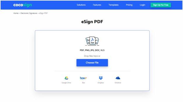 cocosign digital online signature