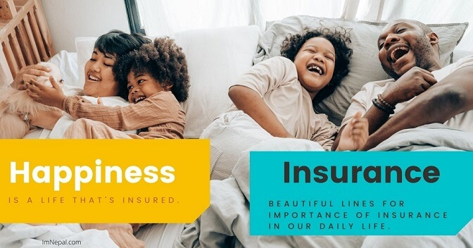 Importance of insurance in human life image