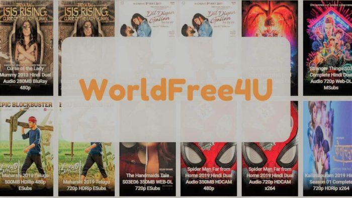 Worldfree4u movies download website
